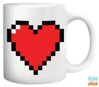 Термальная кружка Пиксельное Сердце
