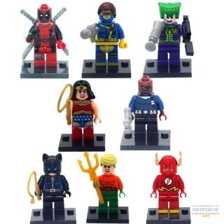 Минифигурки Супергерои