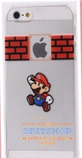 Чехол для Iphone 5/5S Super Mario