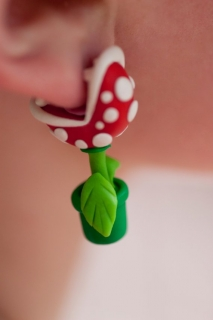 Сережки пираньи (Super Mario)
