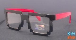 Пиксельные очки Minecraft