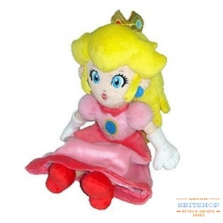 Плюшевая принцесса Пич (Super Mario)
