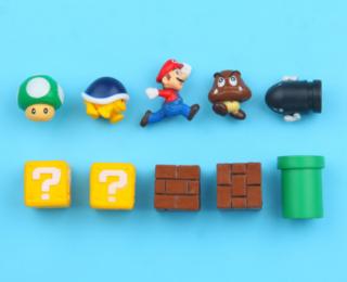 Магниты на холодильник (Super Mario)