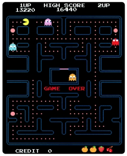 Плед Pac-man
