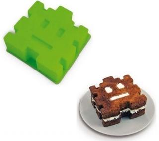 Форма для торта Space Invaders