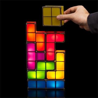 Лампа Tetris