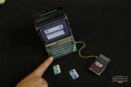 Механическая бумажная игрушка для самостоятельной сборки Speccy ZX-Spectrum