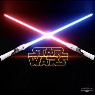 Набор из 2 световых мечей со светом и звуком (Звездные Войны)