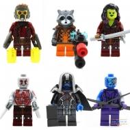 Минифигурки Стражи Галактики (Guardians of the Galaxy)