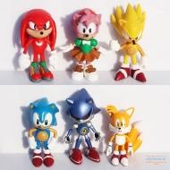 Набор из 6 фигурок Соник (Sonic the Hedgehog)