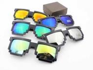 Пиксельные очки зеркальные