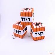 Плюшевая игрушка TNT (Minecraft)