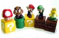 Набор из 5 фигурок персонажей (Super Mario)