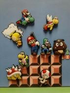 Набор магнитов на холодильник Super Mario